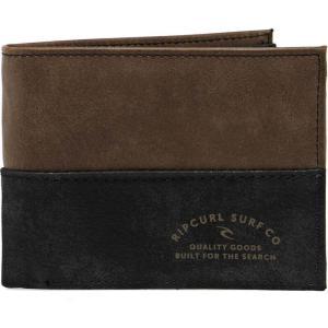 リップカール Rip Curl メンズ 財布 archer rfid pu all day wallet Black/tan|fermart