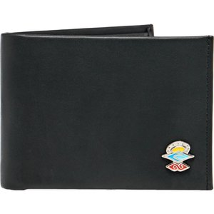 リップカール Rip Curl メンズ 財布 search logo rfid pu all day wallet Black|fermart