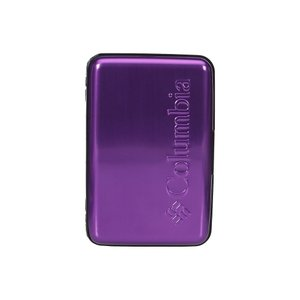 コロンビア Columbia メンズ 財布 Hard Case Security Wallet Purple|fermart