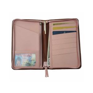 ルイスレザー Royce Leather ユニセックス パスポートケース Passport Travel Wallet Tan fermart