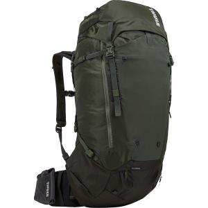 スーリー Thule メンズ バックパック・リュック ハイキング・登山 Versant 50L Backpacking Pack Dark Forest(Dark Forest)|fermart