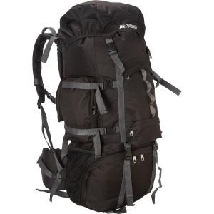 エベレスト デザインズ Everest レディース バックパック・リュック ハイキング・登山 Deluxe Hiking Pack Black|fermart