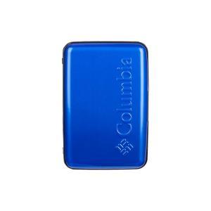 コロンビア Columbia メンズ 財布 Hard Case Security Wallet Blue|fermart
