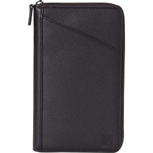 サムソナイト Samsonite ユニセックス 財布 Leather Travel Wallet Black|fermart
