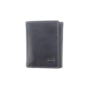ティンバーランド Timberland メンズ 財布 Cloudy Trifold Wallet Black|fermart