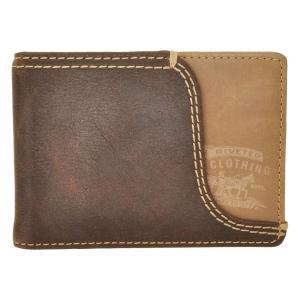 リーバイス Levi's メンズ マネークリップ Front Pocket with Money Clip BROWN|fermart