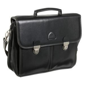 アメリレザー AmeriLeather メンズ ビジネスバッグ・ブリーフケース バッグ World Class Leather Executive Brief Black fermart