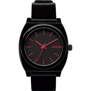 ニクソン Nixon メンズ 腕時計 Time Teller P Watch Black / Bright Pink fermart