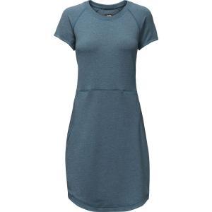 ザ ノースフェイス The North Face レディース ワンピース ワンピース・ドレス TNF Terry Dress Blue Wing Teal Heather fermart