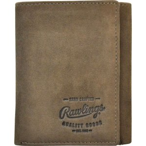 ローリングス Rawlings メンズ 財布 Double Steal Trifold Wallet Glove Brown|fermart