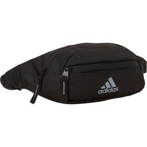 アディダス adidas ユニセックス ボディバッグ・ウエストポーチ バッグ Rand II Waistpack Black / Grey|fermart