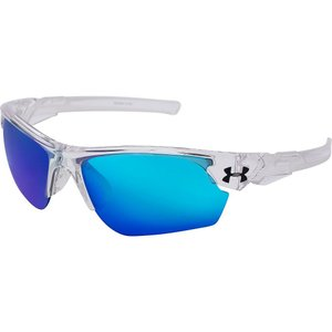 アンダーアーマー Under Armour メンズ メガネ・サングラス Windup Sunglasses Crystal Clear/Frosted Clear Frame/Gray/Blue Multif...|fermart