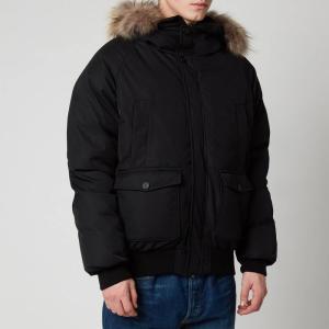 ピレネックス Pyrenex メンズ ジャケット アウター Mistral Fur Collar Jacket - Black Black|fermart