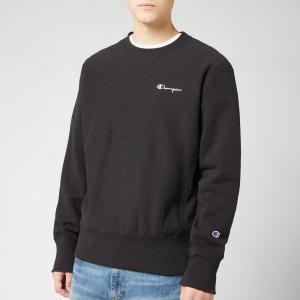 チャンピオン Champion メンズ スウェット・トレーナー トップス small script sweatshirt - black Black fermart