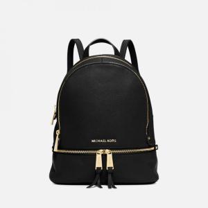 マイケル コース MICHAEL MICHAEL KORS レディース バックパック・リュック バッグ Rhea Zip Medium Backpack Black|fermart
