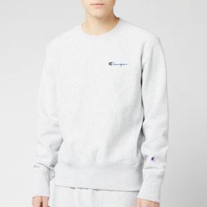 チャンピオン Champion メンズ スウェット・トレーナー トップス small script sweatshirt - grey marl Grey|fermart