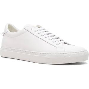 ジバンシー メンズ スニーカー シューズ・靴 Leather...