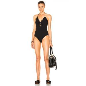 マリシアスイム レディース ワンピース 水着・ビーチウェア Broadway Tie Swimsuit Black|fermart