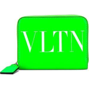 ヴァレンティノ Valentino メンズ 財布 vltn neck wallet Green|fermart