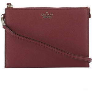 ケイト スペード レディース ショルダーバッグ バッグ Red leather shoulder bag Red|fermart