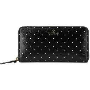 ケイト スペード レディース 財布 Black leather wallet Black|fermart