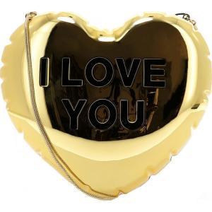 マーク ジェイコブス Marc Jacobs レディース ショルダーバッグ バッグ Golden Metal Shoulder Bag Gold fermart
