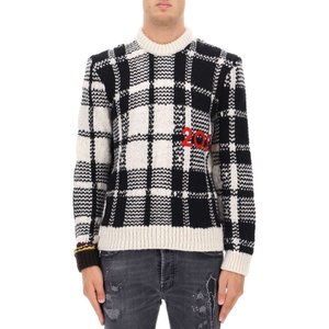 カルバンクライン Calvin Klein 205W39NYC メンズ ニット・セーター トップス Multicolour wool sweater Multicolor|fermart