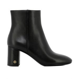 トリー バーチ Tory Burch レディース ブーツ シューズ・靴 Black leather heeled ankle boots Black fermart