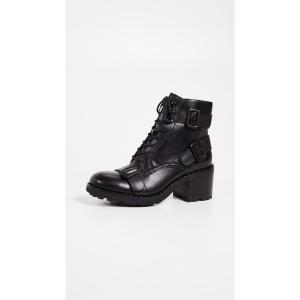 アッシュ Ash レディース ブーツ シューズ・靴 Xeth Buckle Boots Black|fermart