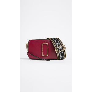 マーク ジェイコブス The Marc Jacobs レディース ショルダーバッグ バッグ Snapshot Cross Body Bag Deep Maroon/Granite|fermart