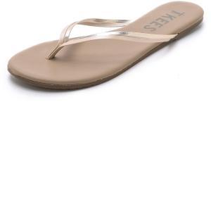 ティキーズ レディース ビーチサンダル シューズ・靴 Duos Flip Flops Oyster Shell fermart