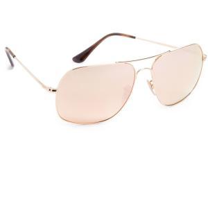 レイバン メンズ メガネ・サングラス RB3587 Chromance Sunglasses Gold/Pink fermart