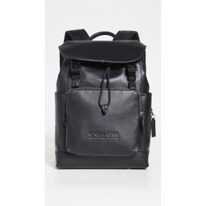 コーチ Coach New York メンズ バックパック・リュック バッグ League Flap Backpack Black fermart