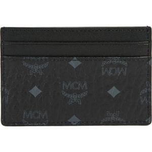 エムシーエム MCM メンズ カードケース・名刺入れ Visetos Card Case Black fermart