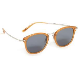オリバーピープルズ Oliver Peoples Eyewear メンズ メガネ・サングラス OP-506 Sunglasses Amber fermart