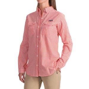コロンビア レディース トップス 釣り・フィッシング Super Bonehead II Shirt - Long Sleeve Melonade Gingham fermart