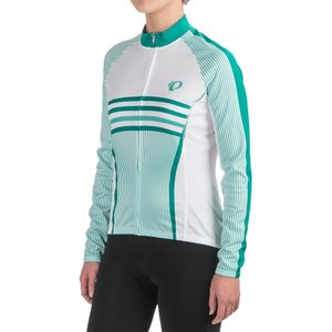 パールイズミ Pearl Izumi レディース トップス 自転車 ELITE Thermal LTD Cycling Jersey - Full Zip, Long Sleeve Classic Dynasty Green|fermart