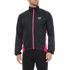 パールイズミ Pearl Izumi メンズ アウター 自転車 ELITE Barrier Cycling Jacket Black/Screaming Pink|fermart