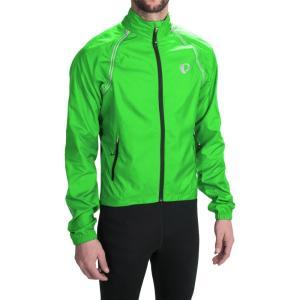 パールイズミ Pearl Izumi メンズ アウター 自転車 ELITE Barrier Cycling Jacket - Convertible Screaming Green|fermart