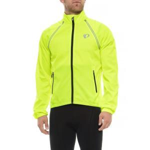 パールイズミ Pearl Izumi メンズ アウター 自転車 ELITE Barrier Cycling Jacket - Convertible Screaming Yellow|fermart