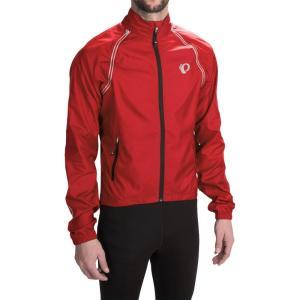 パールイズミ Pearl Izumi メンズ アウター 自転車 ELITE Barrier Cycling Jacket - Convertible True Red|fermart