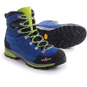 ケイランド Kayland メンズ シューズ・靴 ハイキング・登山 Titan Rock Gore-Tex Hiking Boots - Waterproof Cobalt Lime|fermart