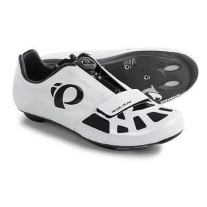 パールイズミ Pearl Izumi レディース シューズ・靴 自転車 ELITE Road IV Cycling Shoes - 3-Hole White/Black|fermart
