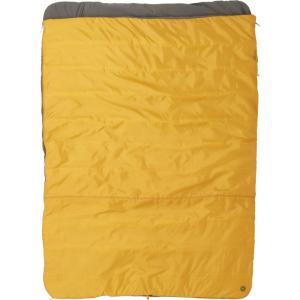 マーモット Marmot ユニセックス ハイキング・登山 寝袋 30F Mavericks Double Wide Sleeping Bag - Square Golden Copper/Dark Olive|fermart