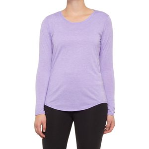 ブルックス Brooks レディース トップス distance shirt - long sleeve Heather Lilac|fermart