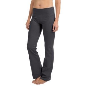 プラーナ prAna レディース ボトムス・パンツ ヨガ・ピラティス Contour Yoga Pants - Tall Inseam Charcoal Heather|fermart