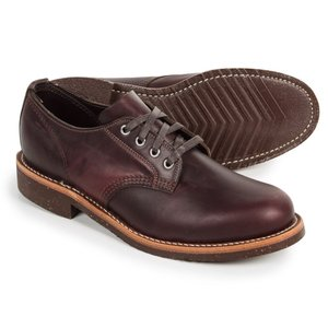 チペワ メンズ 革靴・ビジネスシューズ シューズ・靴 General Utility Service Oxford Shoes - Leather Anaflex Cordavan|fermart