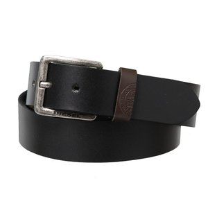 ディーゼル Diesel メンズ ベルト Mino3 Buffalo Leather Belt Black|fermart