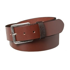 ディーゼル Diesel メンズ ベルト Mino3 Buffalo Leather Belt Vintage/Walnut|fermart