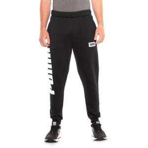 プーマ Puma メンズ スウェット・ジャージ ボトムス・パンツ Rebel Sweatpants Cotton Black|fermart